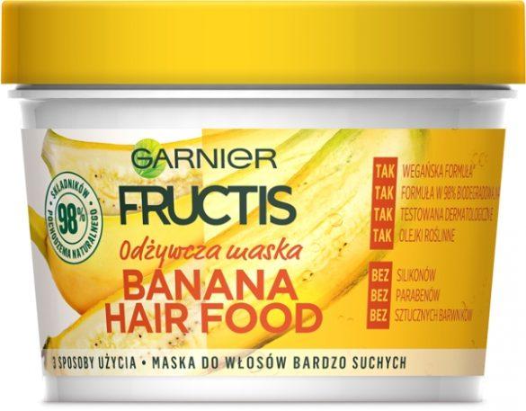 GARNIER FRUCTIS HAIR FOOD Nowy sposób odżywiania głodnych włosów!