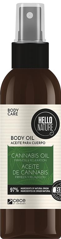 HELLO NATURE CANNABIS OIL do ciała!