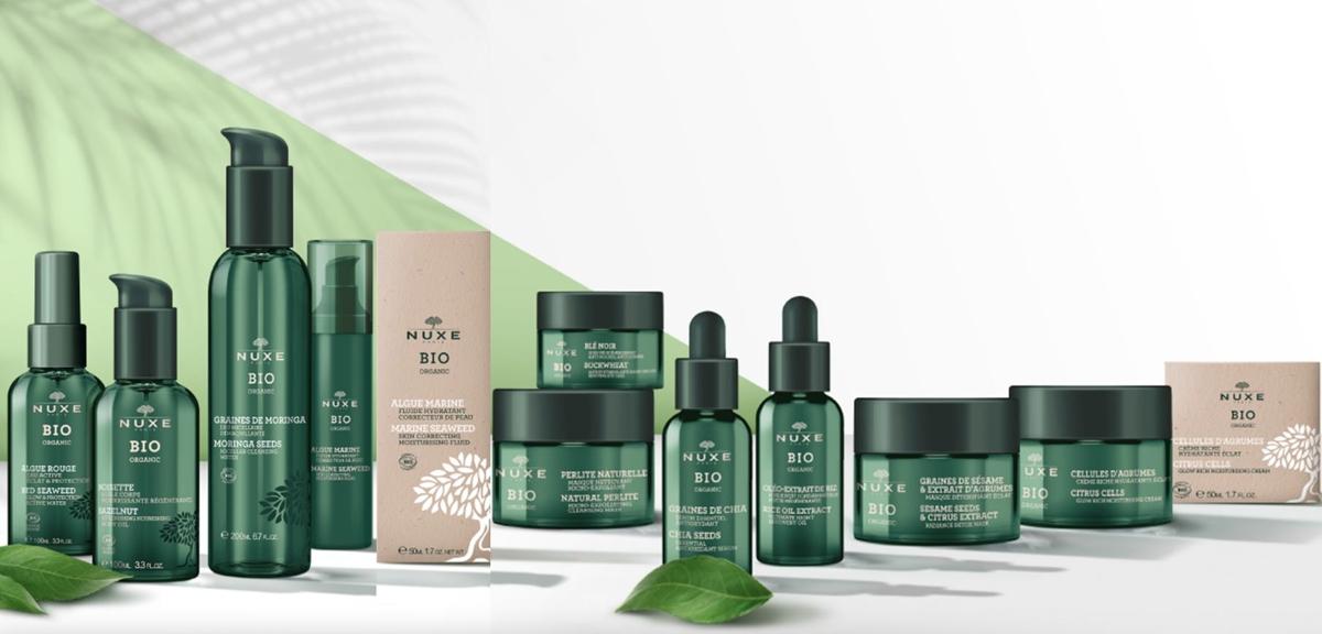 Nuxe Bio Organic - Nowa generacja kosmetyków organicznych do pielęgnacji  skóry - Trendykosmetyczne